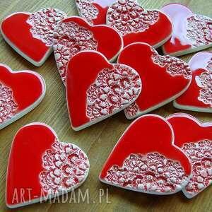 gustowne ceramika podziękowania ceramiczne serca -
