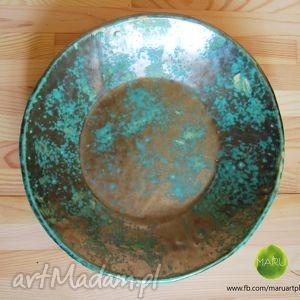 ręcznie robione ceramika rękodzieło ceramiczny talerz