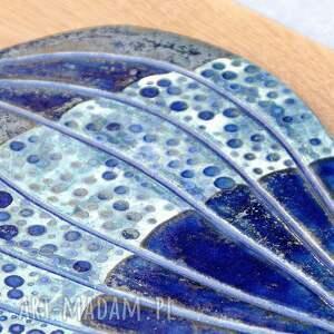 szare ceramika dekor ceramiczny na ścianę - balon. jedyny niepowtarzalny