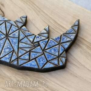 ceramika zwierzęta dekor ceramiczny nosorożec