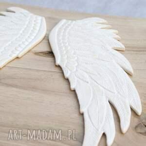 eleganckie ceramika skrzydła dekor ceramiczny