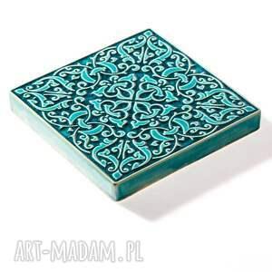 kafelki ceramika dekory adagio turkusowe do