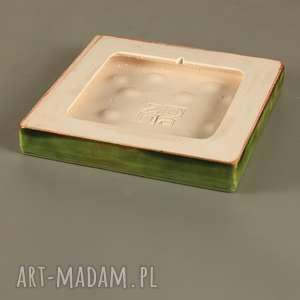 dekory ceramika grave zielone do zawieszenia
