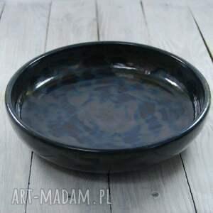Ceramika MULA: Duża ceramiczna misa - Ręczne wykonanie patera