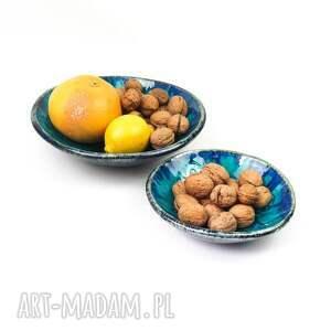 ceramika esy floresy turkusowe miski