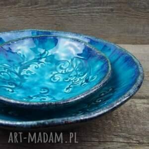 trendy ceramika esyfloresy turkusowe miski