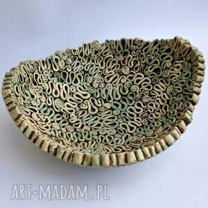 ręcznie wykonane ceramika misa fantazyjna