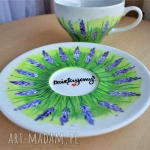 ceramika filiżanka ręcznie malowana