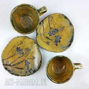 handmade ceramika kawa filiżanki 2 szt