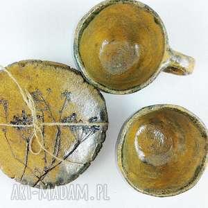 ceramika kawa filiżanki 2 szt