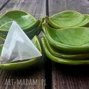 liść ceramika fusetka