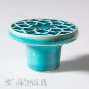 ceramika uchwyty do mebli gałki do turkusowe