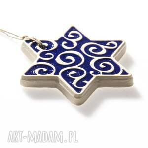 świąteczny prezent gwiazdki niebieskie do zawieszenia