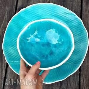 niekonwencjonalne ceramika misa bubbles zestaw naczyń ceramicznych