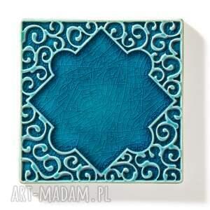 gustowne ceramika kafle arabeski zestaw ornamentów