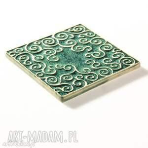 ceramika kafle dwanaście ornamentów zielone