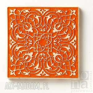 ceramika kafle largo pomarańczowe