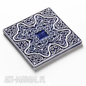 dekory ceramika kafle mix ciemnoniebieski, 25 sztuk