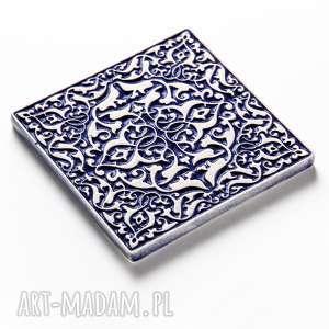ceramika dekory kafle mix ciemnoniebieski, 25 sztuk
