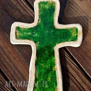 unikalne ceramika krzyż krzyżyk na ścianę i szkło