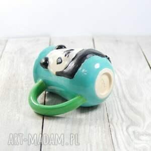unikatowe ceramika dla-dziecka kubek ceramiczny panda
