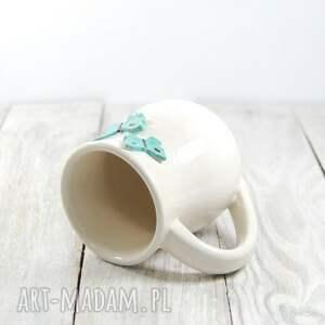 białe ceramika dzień-kobiet kubek ceramiczny motyle