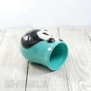 dla-dziecka ceramika niebieskie kubek ceramiczny panda