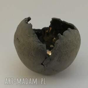 świecznik ceramika lampion ceramiczny ręcznie