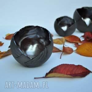 ceramika szare lampion ceramiczny ozdobny