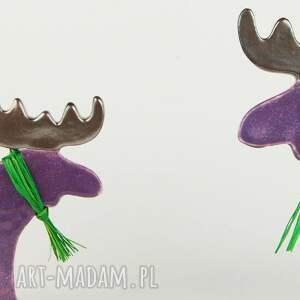 upominki święta zwierzęta łoś świąteczny