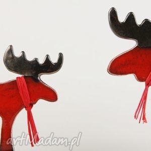 prezenty na święta figurki łoś świąteczny