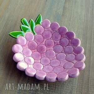 ręcznie robione ceramika malinka miseczka