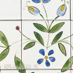 białe ceramika malowane dekory ceramiczne etno