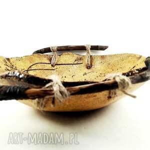 urokliwe ceramika prezent misa ceramiczna z naturalnym