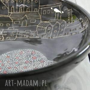 ceramika misa ceramiczna sgraffito miasto