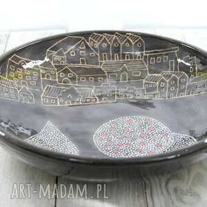 ceramika prezent misa sgraffito miasto