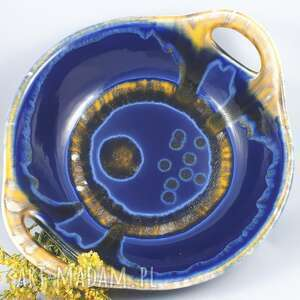 ceramika bolesławiec misa z uszami archipelag