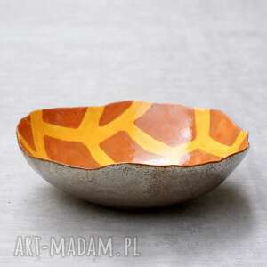 nietuzinkowe ceramika misa żyrafa
