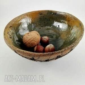 modne ceramika dom miseczka ceramiczna - koronka