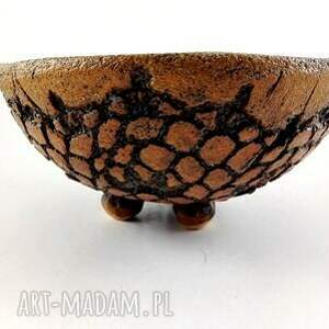 ceramika miseczka ceramiczna - koronka