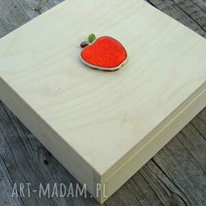 hand-made ceramika jabłko miseczka - jabłuszko