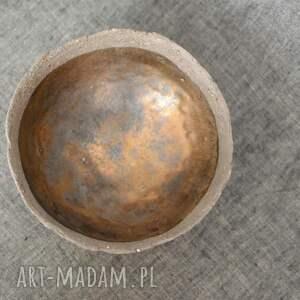 trendy ceramika rustykalne miseczka na bakalie