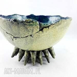 poLEPIONE ceramika: Miska ceramiczna - Morska - dekoracja