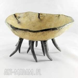 efektowne ceramika prezent miska ceramiczna - morska