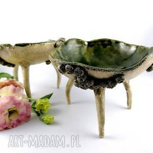 hand made ceramika sztuka miska ceramiczna morska