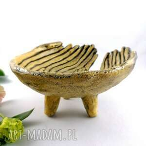 dekoracje miska ceramiczna
