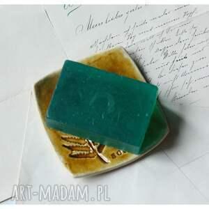 Wylegarnia pomyslow unikatowe ceramika mydelniczka miodowa z paprocią