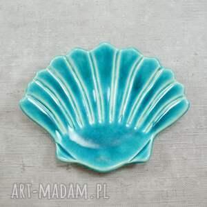 ceramika muszla mydelniczka