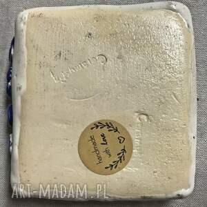 ceramiczna mydelniczka ceramika mydlany alfabet