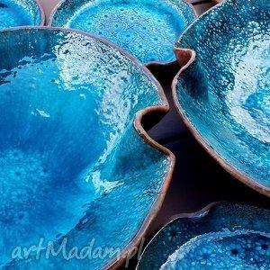 ceramika talerz ocean zestaw naczyń ceramicznych